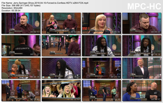 Jerry Springer Show 2018 04 10-Forced to Confess HDTV x264-FOX mp4