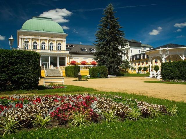 Франтишковы Лазне курорт Чехии