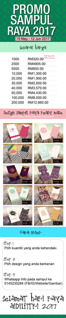 harga sampul raya latest murah