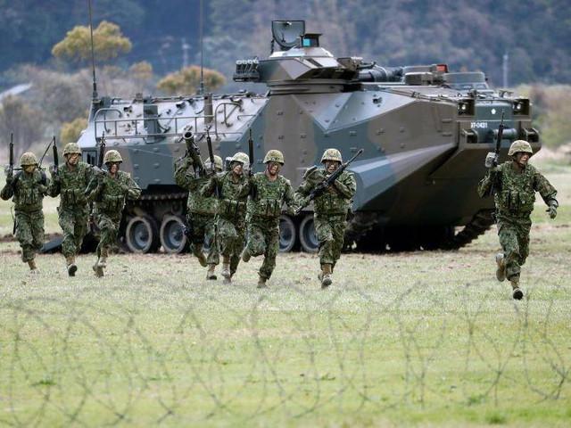 Fuerza Naval Nipona activa 1a. Unidad de Infantes de Marina desde la 2 Guerra Japan_marines2018