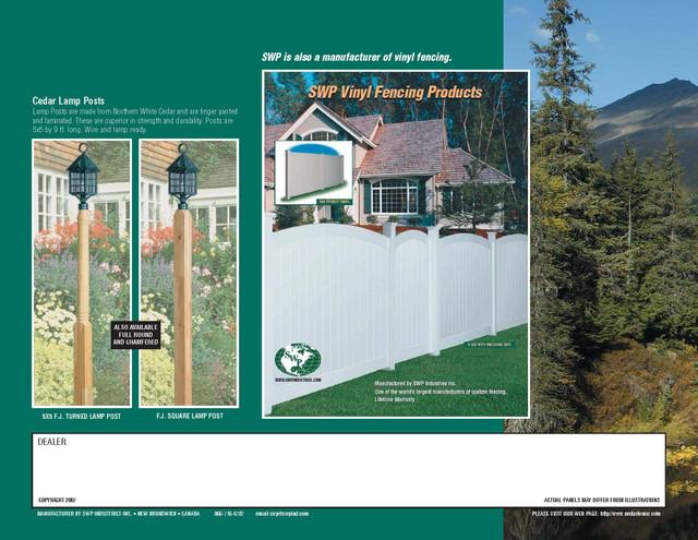 cedar Fencing Page 12