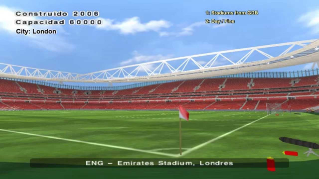 Emirates Stadium For PES6