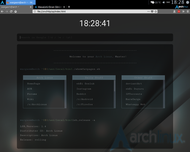 Firefox Login Screen Ricing