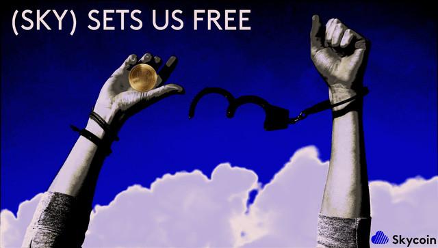 SKY SETS US FREE