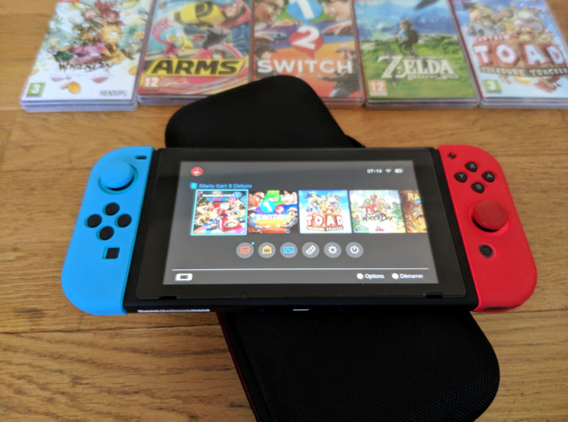 [VDS] Nintendo Switch + 10 Jeux Switch3