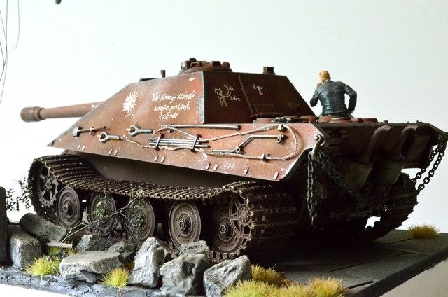 Jagdpanzer E-75 - 1:35 v. Trumpeter, Bolddivision DSC_2791