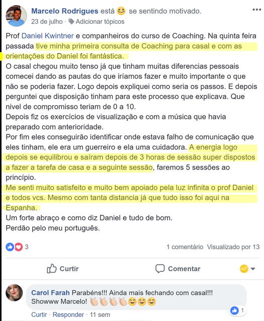Depoimento Forma o de Coaching 3 Marcelo Coaching Casal