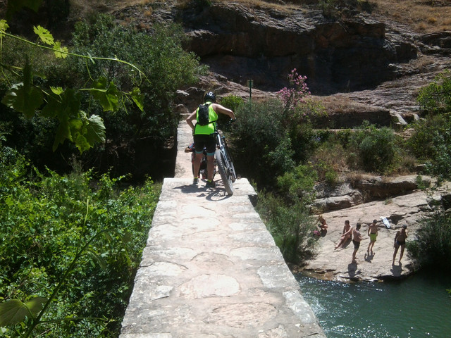 El rio Turon en el Burgo este sabado (cronica) Foto5089