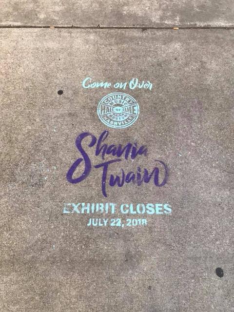 shania cmhofexhibit062717 sidewalk