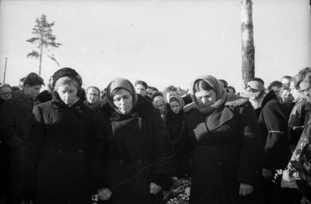 Dyatlov pass funerals 9 march 1959 30