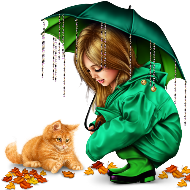 little-girl-in-raincoat-with-a-kitty-png-1610fd9b9482b3109b.png