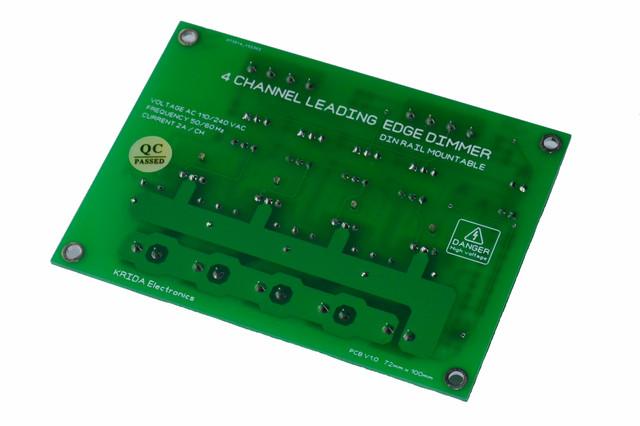 4CH AC LED Light Dimmer V1 Module Triac ARDUINO RASPBERRY Smart Home