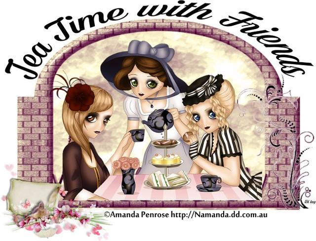 GOOD M...GOOD A...GOOD E....GOOD N... Amanda_Penrose_Tea_time_with_friends