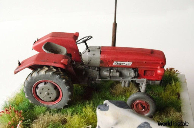 Zetor 3511 - 1:35 of SKP Models 23847237_946722112161971_1762843582377551493_o