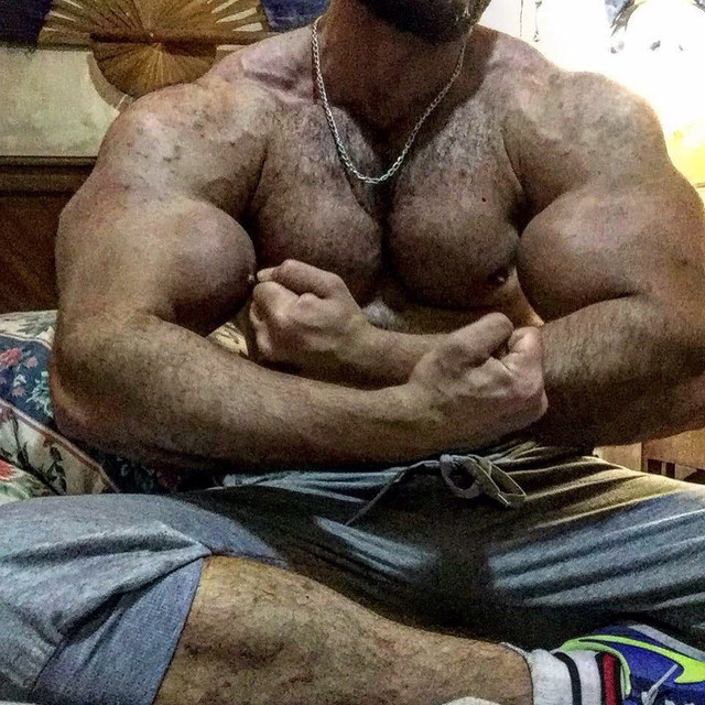 huge muscle