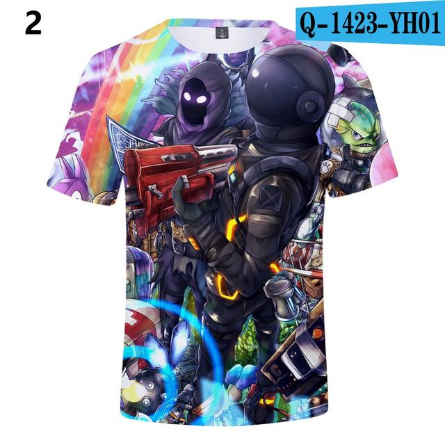 Battle-Royale-T-Shirts-Rainbow-Smash-Pony-Horse-Short-Sleeve-Tshirts-3-D-T-shirts-Boys-and-Q1423-YH01
