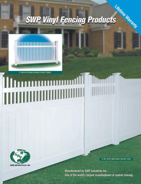 vinyl Fencing Page 1