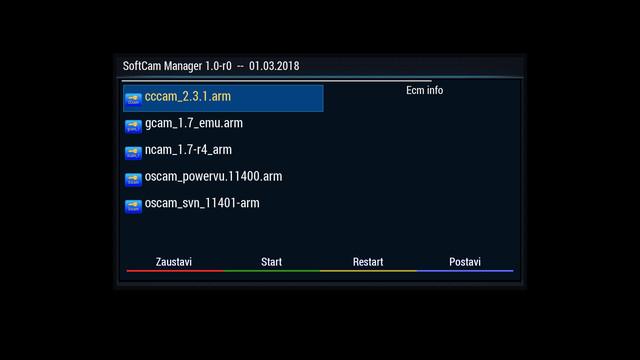 VU Zero 4k backup by @mika | CroSatelite com