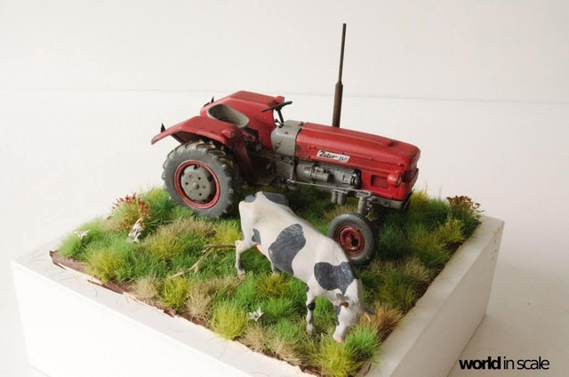 Zetor 3511 - 1:35 of SKP Models 24059366_946722228828626_5417780415004807246_o