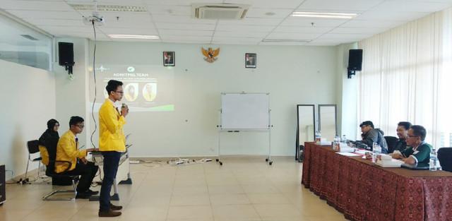 Suasana Presentasi Hackathon