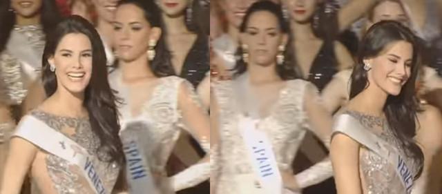 Susana Sanchez en miss international - Página 2 Miradas