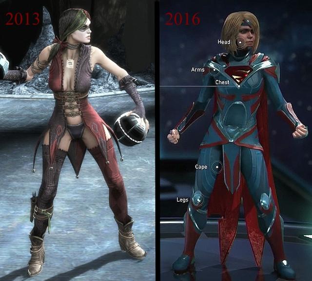 Injustice compare