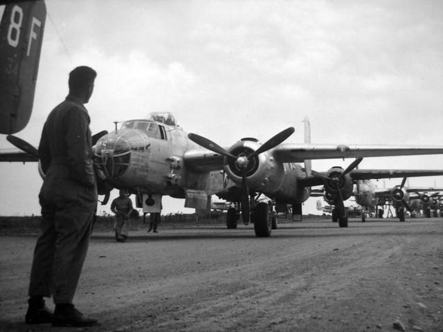 B 25 Foggia Airfield Comp Italy 1944