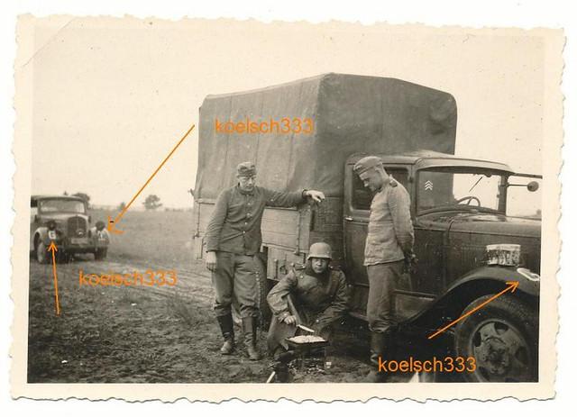 GAZ AA captured truck of Art Reg 42 Gruppe G