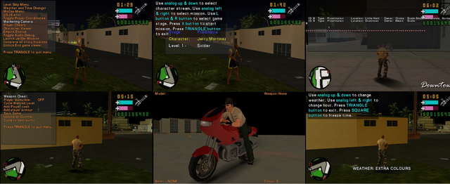 Developer debug menu - GTA Vice City Stories - GTAForums