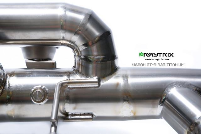 2017 Nissan GT-R/R35   ARMYTRIX 90mm Titanium Valvetronic