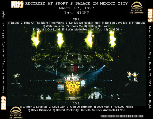 KISS - 1997-03-07 ~ Mexico City, MX - Guitars101 - Guitar Forums