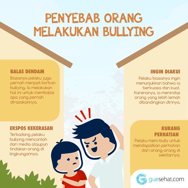 Penyebab Bullying -GueSehat.com