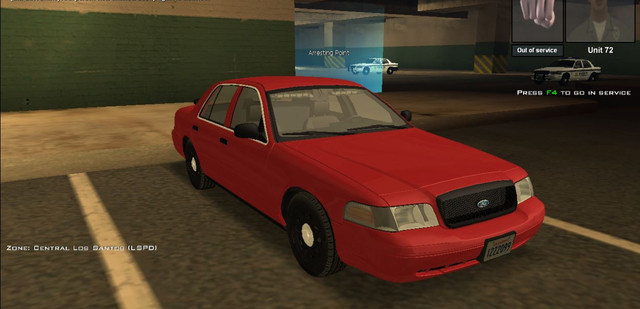Secret Police Vehicle  Ford Crown Victoria The Original Model Replaces The Ls Patrol But Is Modified To Fit The Premier Model