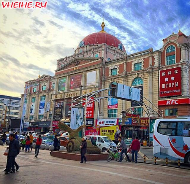 Хэйхэ – окно из России в Китай