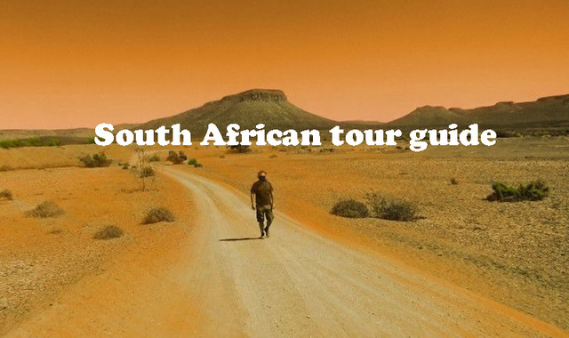South African tour guide