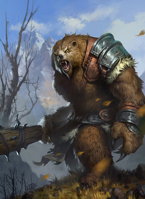 3 Beorn Beorn Warrior