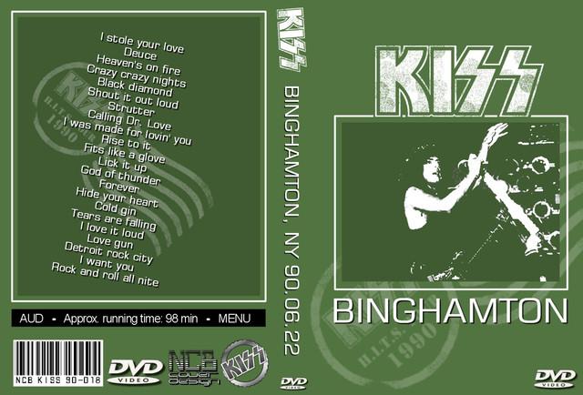 KISS - 1990-06-22 ~ Binghampton, NY - Guitars101 - Guitar Forums
