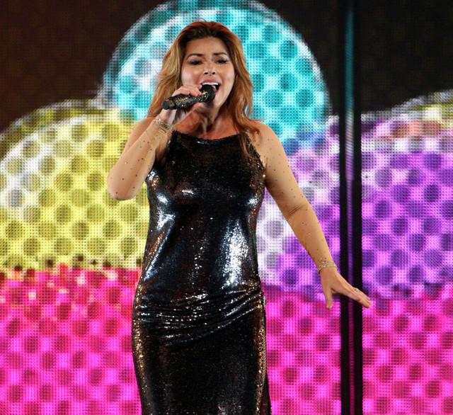 Shania Twain performs Monday June 4 2018 at Infinite Energy Arena on her Shania Now Tour Bastian Bak