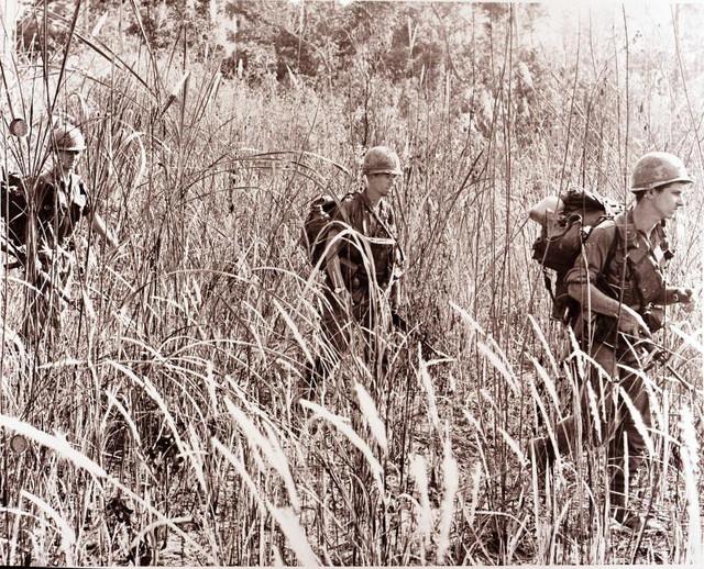 4ª Division de infantería. Vietnam 1968