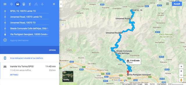 Piemonte (TO) - Colombardo Peak Trail 12