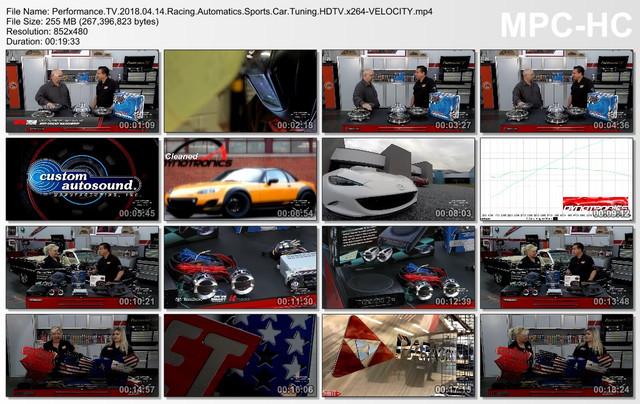Performance TV 2018 04 14 Racing Automatics Sports Car Tuning HDTV x264-VELOCITY mp4