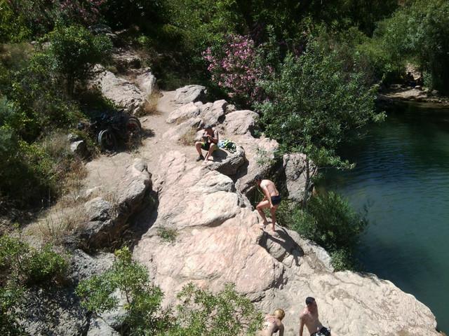 El rio Turon en el Burgo este sabado (cronica) Foto5094