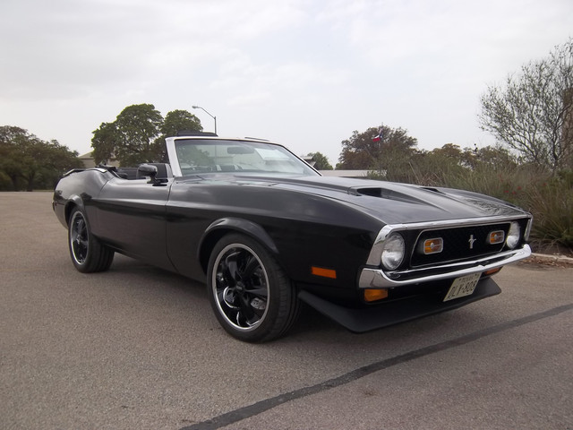 71 Mustang 429 CJ Top Down