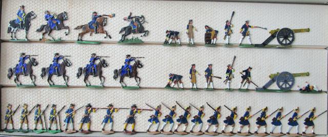 Schwedische Truppen bei Poltawa 1709