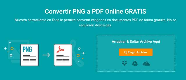 Cómo Cambiar PNG a PDF en Windows