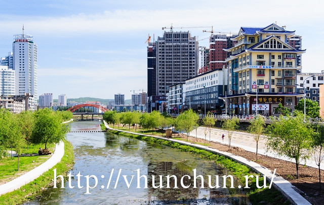 Граница Хуньчунь