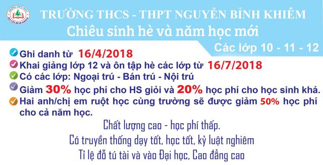 Tuyển sinh THPT