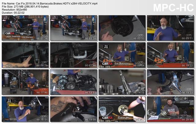 Car Fix 2018 04 14 Barracuda Brakes HDTV x264-VELOCITY mp4