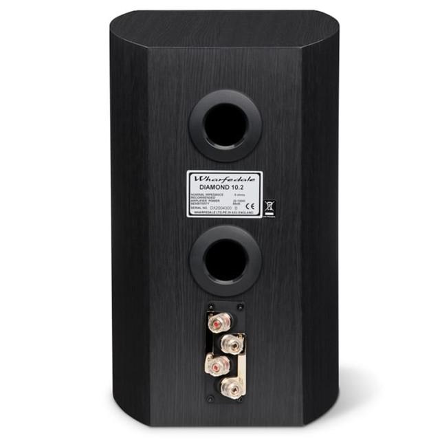 Sold- Wharfedale Diamond 10.2 bookshelf speaker amp amplifier hifi AWFDIA102-BLK-1