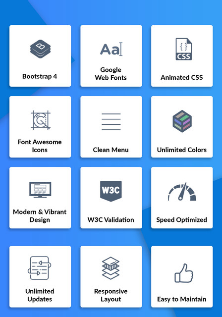 OhDearCRM - SaaS & CRM App Landing Page Template